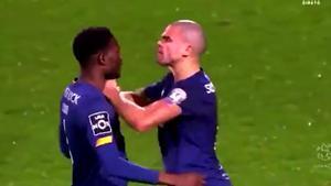 La última liada de Pepe: ¡Se pelea con un compañero de su equipo que acaba de entrar!