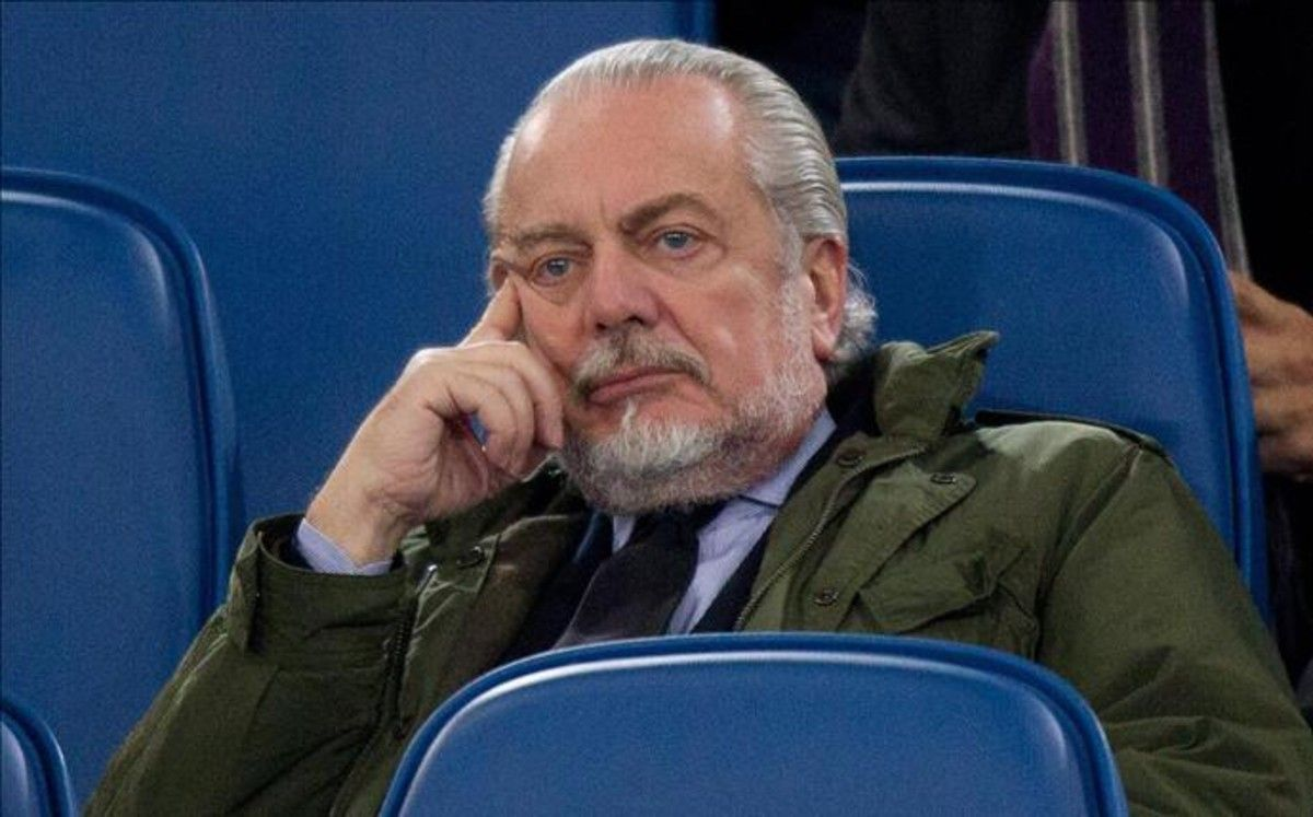 De Laurentiis, presidente del Nápoles