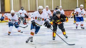 El tradicional Catalunya-Euskadi de hockey hielo vuelve esta Navidad