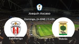 Jornada 14 de la Tercera División: previa del duelo Sabiñánigo - Robres