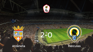 El Atzeneta consigue la victoria en casa frente al Hércules (2-0)