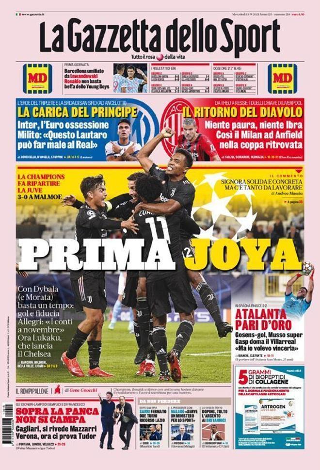 Las portadas de la prensa deportiva de hoy