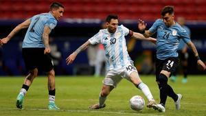 La Argentina de Leo Messi y Uruguay ya están clasificadas para los cuartos