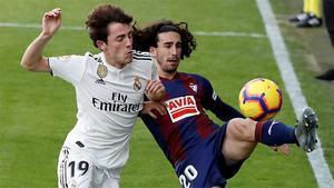 Así fue el jugadón de Cucurella que sirvió al Eibar para adelantarse ante el Madrid
