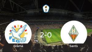 Los tres puntos se quedan en casa: Grama 2-0 Sants