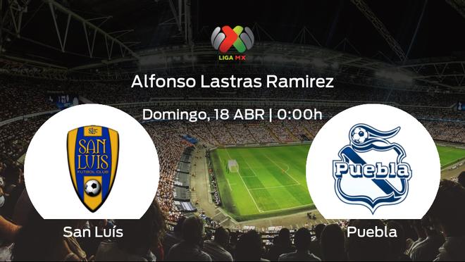 Previa del partido: San Luís - Puebla