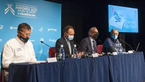 Andorra constituye el Comité de Honor de las Finales de la Copa del Mundo de esquí alpino del 2023