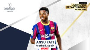 Ansu Fati, nominado a los premios Laureus