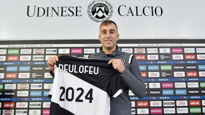 Deulofeu firmó hasta 2024 con el Udinese