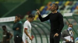 Luis Enrique, satisfecho por el 0-0 ante Portugal