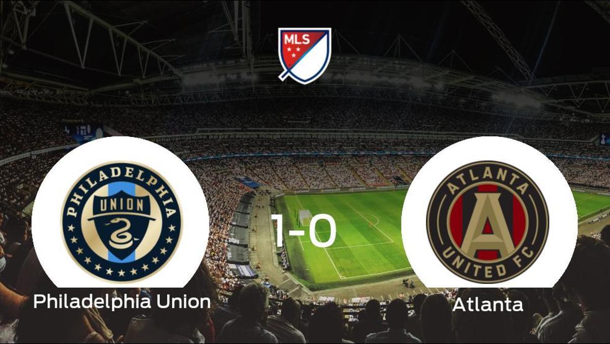 El Philadelphia Union consigue la victoria frente al Atlanta United en el segundo tiempo (1-0)