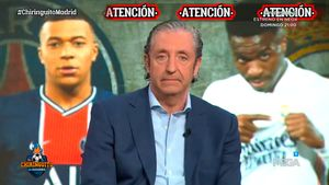 ¡De locos! ¡El momento en el que Pedrerol desveló en directo el fichaje de Mbappé por el Madrid la próxima temporada!