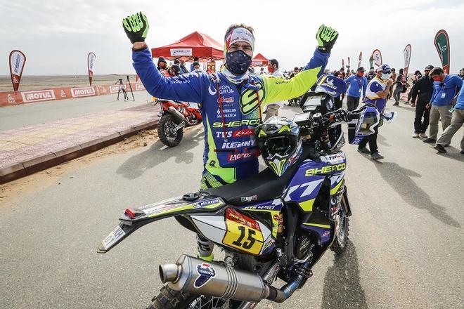 Lorenzo Santolino, sexto en el Dakar 2021