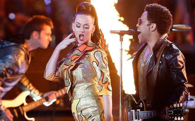 Katy Perry, protagonista en la Super Bowl