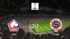 El Lille OSC suma tres puntos después de ganar 2-1 al Sparta Praga