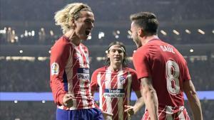 Saúl y Griezmann son compañeros desde hace ya varias temporadas en el Atlético de Madrid