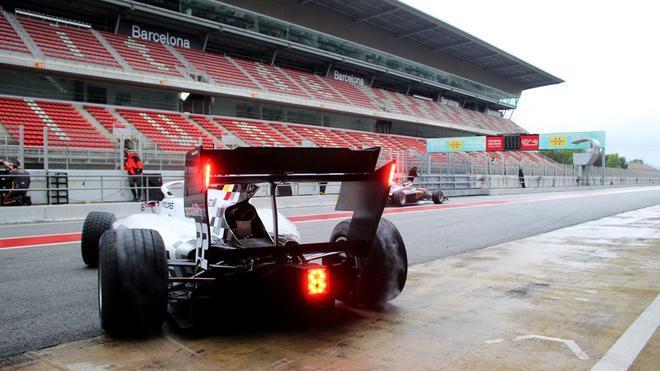 Los monoplazas de la F3 y la F2 ensayan esta semana en Barcelona