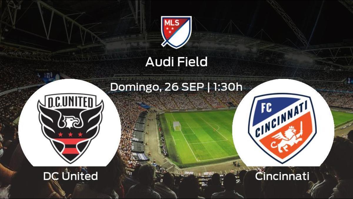 Jornada 35 de la Major League Soccer: previa del encuentro DC United - Cincinnati